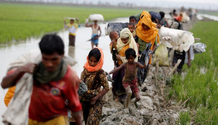 Foto Berita Bangladesh Nyatakan Upaya Repatriasi Rohingya ke Myanmar Ditunda