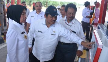 Foto Agustus 2017, Dua Seksi Tol Medan-Binjai Dioperasikan