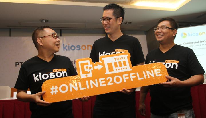 Kioson Bukukan Laba Bersih Rp2,938 Miliar Sepanjang 2017 - Warta Ekonomi
