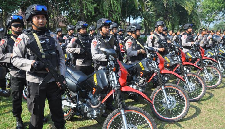 Foto Berita Pasukan Gabungan Siap Amankan Jokowi di Samarinda