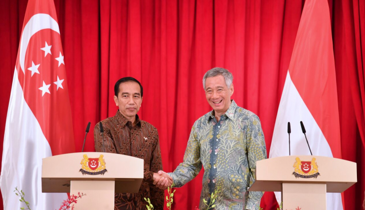 Indonesia-Singapura Teken Perjanjian Investasi Bilateral - Warta Ekonomi