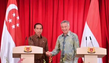 Foto Investasi Singapura di Indonesia Naik 38%