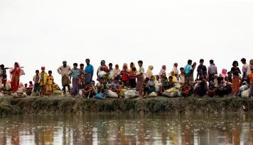 Foto Bela Rohingya, PDI-P Desak Pemerintahan Jokowi Tekan Militer Myanmar