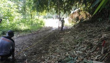 Foto Kodim Purwakarta Rampungkan Akses Jalan Pantura Tembus Wanayasa