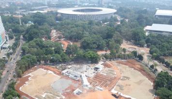 Foto Gubernur Sultra : Stadion Dayung Teluk Kendari Tidak Layak Pakai