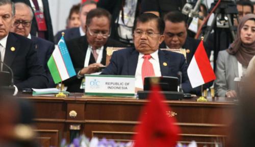 Foto Formula 4+1 Cara Indonesia Selesaikan Rohingya, Kata Wapres