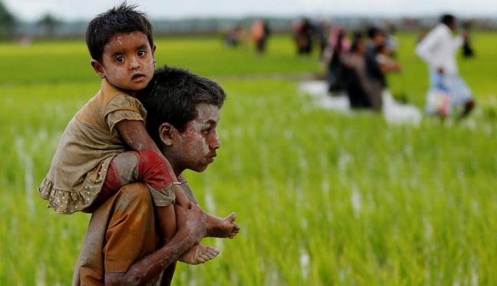 Foto Berita Krisis Rohingya: Kelompok HAM Desak Badan Internasional Dilibatkan dalam Pemulangan Pengungsi