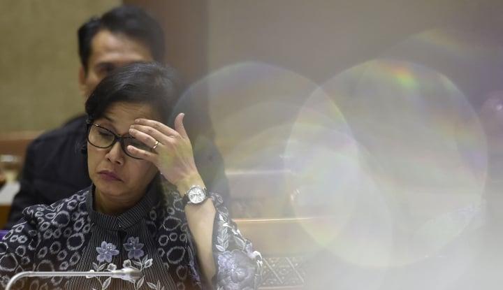 Foto Berita Sri Mulyani Klaim Realisasi Penerimaan Pajak Terkerek Naik