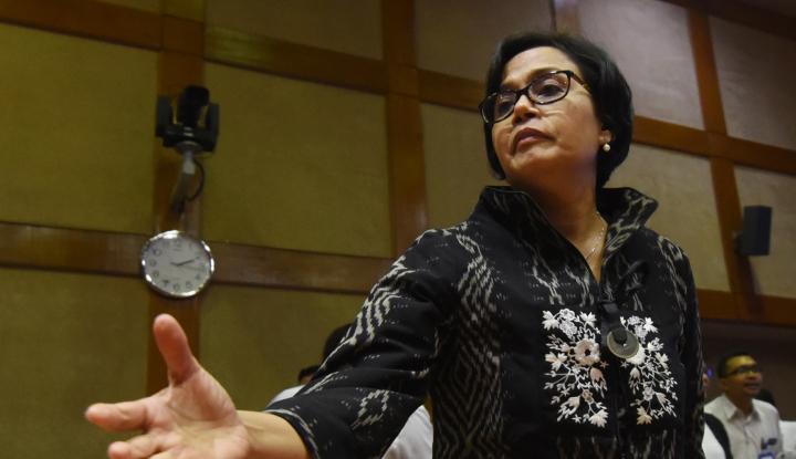 Foto Sri Mulyani Diundang ke DPR Bahas Anggaran Kemenhan