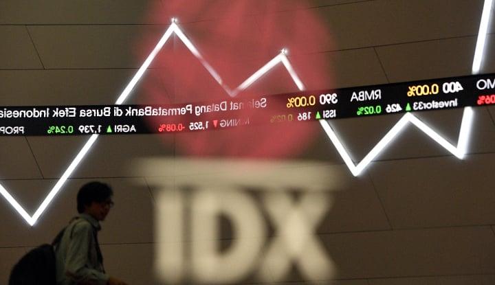 Foto Berita Indeks Melemah Tipis di Sesi Pertama Senin Ini