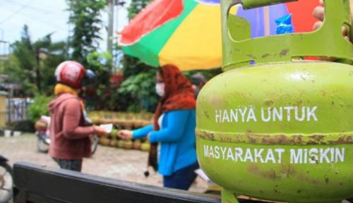 Foto Gawat, di Daerah Ini Gas Melon Dijual Rp50.000/tabung