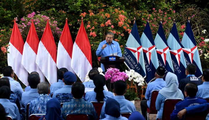 Foto Berita SBY: Parpol Jangan Dukung KPK Saat Kadernya Aman