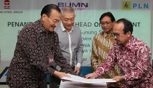 Foto Dorong Pertumbuhan Pelanggan Industri dan Bisnis Besar, PLN Sambung 625 MW