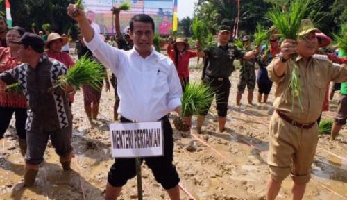 Foto Kementan Sebut Indonesia Sudah Swasembada Pangan