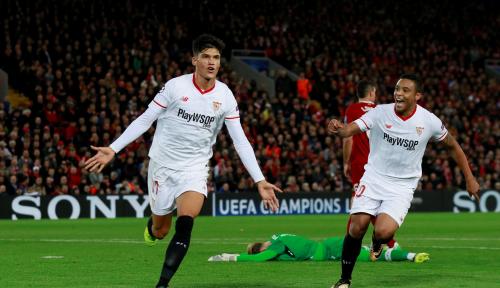 Foto Kalahkan Lazio, Sevilla Lolos ke 16 Besar Liga Eropa