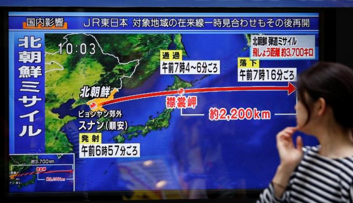 Foto Berita Jepang Desak Korea Utara Realisasikan Upaya Denuklirisasi