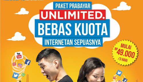 Foto BOLT 4G+ Luncurkan Paket Prabayar Unlimited Pertama di Indonesia