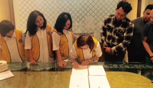 Foto Wujudkan Kecintaan pada Leluhur, Lions Club Jakarta Monas Kalingga Lakukan Hal ini