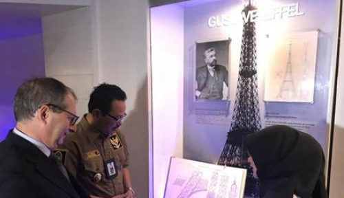 Foto Yuk Kunjungi Zona Jelajah Menara Eiffel di Yogyakarta