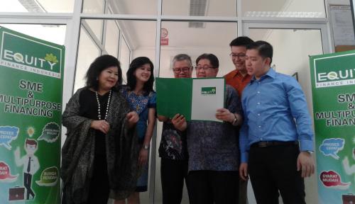 Foto Equity Finance Kucurkan Rp300 Miliar Bantu Pembiayaan Masyarakat