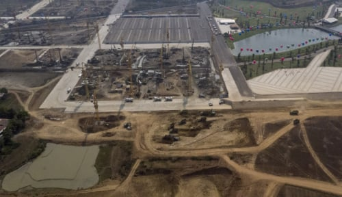 Foto Sofyan Djalil : Izin Pembangunan Meikarta Hanya 84 Hektare