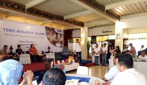 Foto Gelar Temu Nasabah, PNM Imbau UMKM Utamakan Pengembangan Usaha