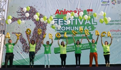 Foto Anlene Gandeng PDSKO Selenggarakan Festival Komunitas 2017