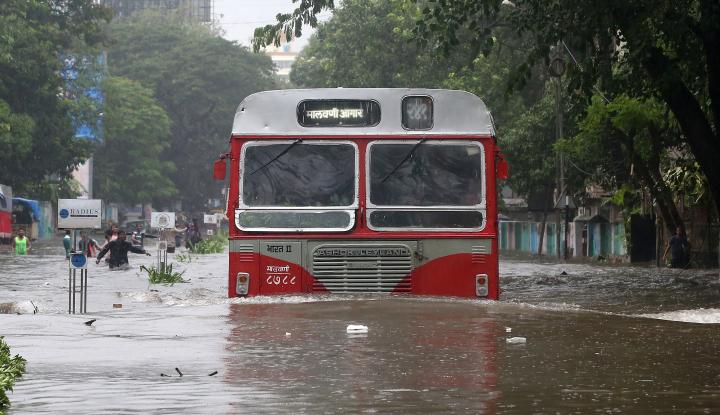 Foto Berita Banjir Dahsyat di India, 3.000 Orang Terpaksa Dievakuasi