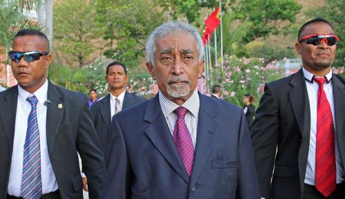 Foto Ini Misi PM Baru Timor Leste Mari Alkatiri