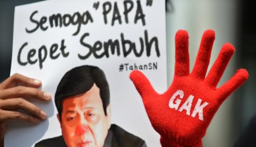 Foto Hakim Tolak Eksepsi KPK Soal Praperadilan Novanto