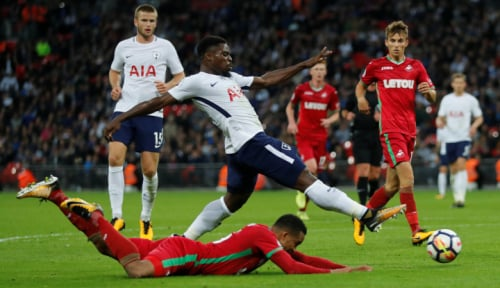 Foto Tottenham Benamkan Liverpool 4-1