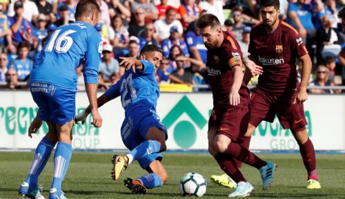Foto Keren, Barcelona Akan Sodorkan Kontrak Seumur Hidup ke Messi