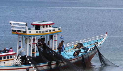 Foto Nelayan Sumatera Utara Tolak Penggunaan Cantrang