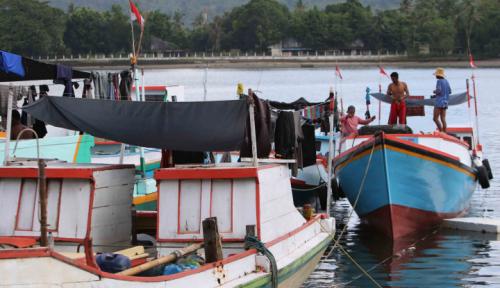 Foto Lantamal VI Tangkap Pelaku Penangkapan Ikan Ilegal