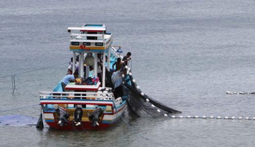 Foto HNSI Lampung: Nelayan Tolak Upaya Eksploitasi dan Eksplorasi Tambang Pasir Laut