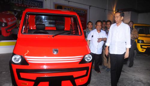 Foto Begini Tantangan Jokowi untuk Mobil Produksi dalam Negeri