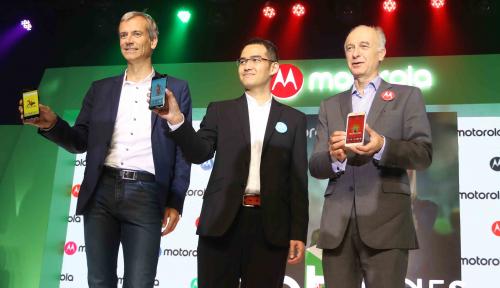 Foto Jurus Motorola Rebut Pasar Smartphone