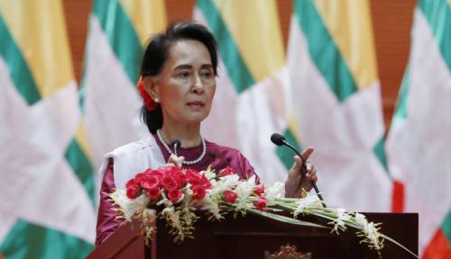 Foto Penghargaan Demi Penghargaan Menjauh dari Aung San Suu Kyi