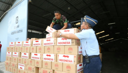 Foto Indonesia Stop Bantuan Kemanusiaan Rohingya Via Bangladesh