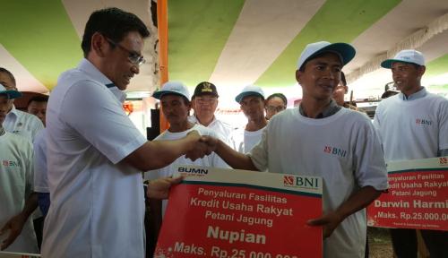 Foto BNI Kucurkan KUR untuk Petani Bengkulu