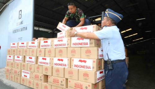 Foto Bantuan Kemanusiaan dari Indonesia Telah Sampai di Rakhine