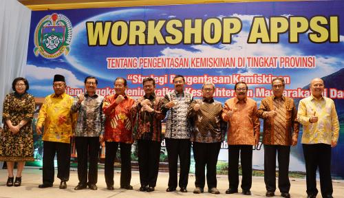 Foto APPSI: Perlu Konsep MatangEntaskan Kemiskinan di Indonesia