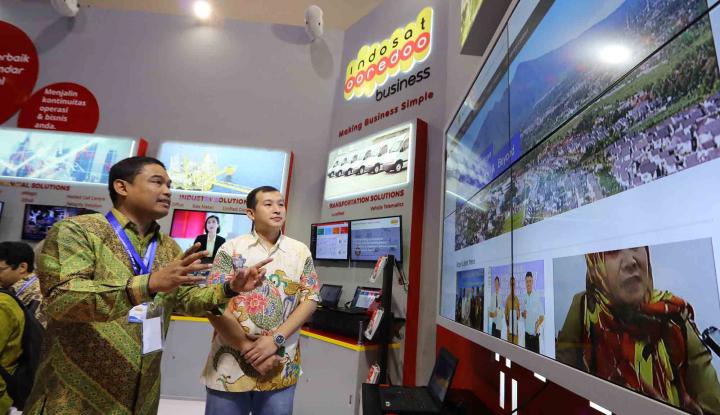 Gandeng Ericcson, Indosat Ooredoo Tampilkan Contoh Penggunaan Teknologi 5G - Warta Ekonomi