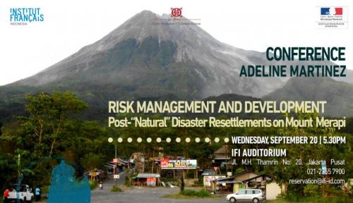 Foto IFI Jakarta Adakan Seminar Tentang Gunung Merapi Nih, Yuk Simak!
