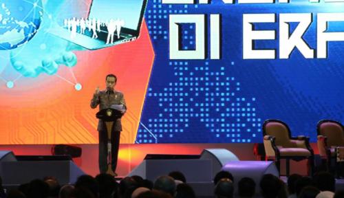 Foto Jokowi: Indonesia Paling Aktif Berantas Korupsi