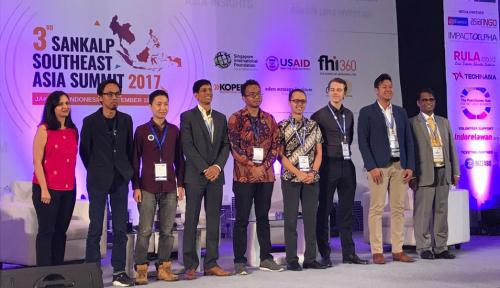 Foto Fokus pada Pembiayaan UMKM, Amartha Fintech Menangkan Sankalp Southest Asia Award 2017