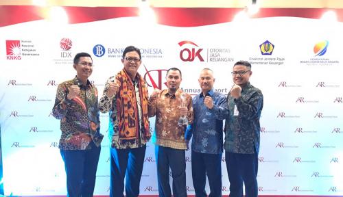Foto Lanjutkan Tradisi, BSB Raih penghargaan Annual Report Award ke Tiga Kalinya