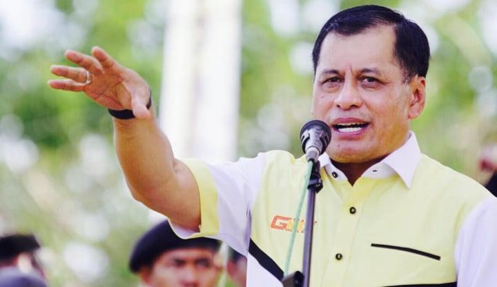 Foto Berita Pesan Nurdin Halid ke Kader Golkar: Menangkan Pilkada Sulsel!