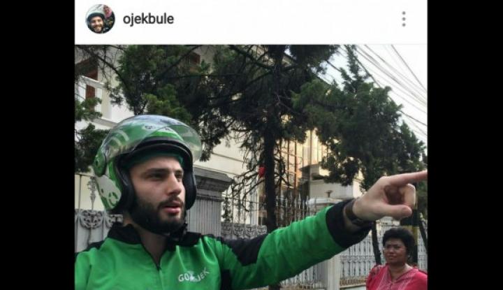 Foto Berita Go-Jek: Nggak Punya Driver Bule