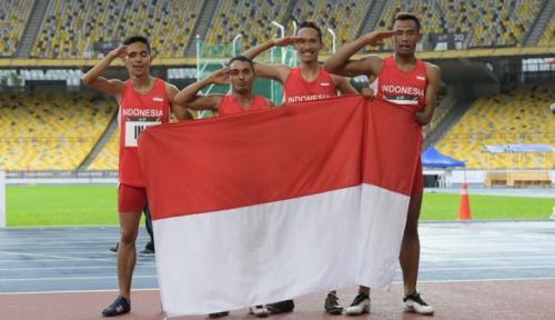 Foto Indonesia Juara Umum ASEAN Para Games